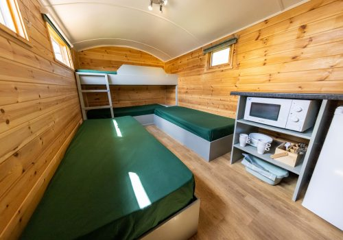 Enclosure bunk and twin