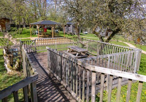 6 - Annie Elizabeth private decking view